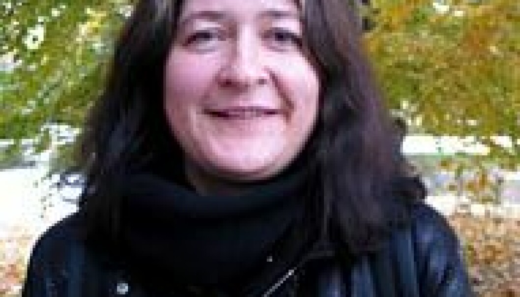 """""""Hege Charlotte Faber er en av de første som forsker på nettkunst i Norge."""""""