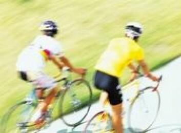 Ny forskning kan hjelpe syklister til å velge rett posisjon på sykkelen.