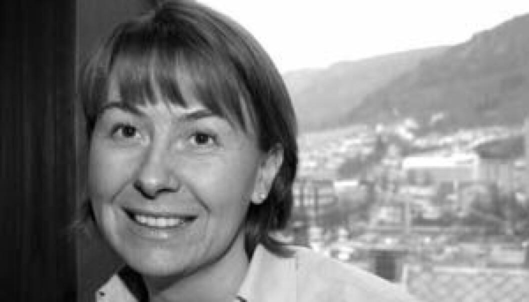 """""""Astrid Grasdal frå Program for helseøkonomi arbeider med eit prosjekt som skal undersøke sosiale skilnader og skilnader i helse."""""""