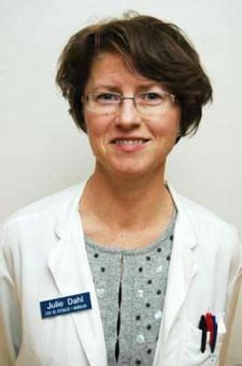 Julie Dahls forskning viser at det er trygt for MS-kvinner å få barn. (Foto: Kim E. Andreassen)