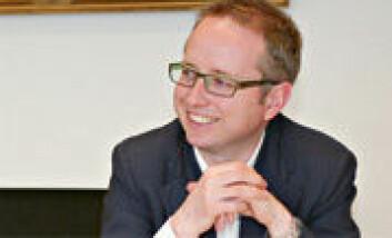 Bård Vegar Solhjell. (Foto: Yvonne Holth)