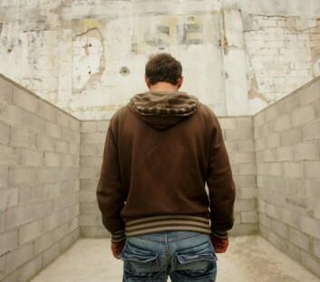 Menn strever mer sosialt etter bruddet enn kvinner. (Illustrasjonsfoto: www.colorbox.no)