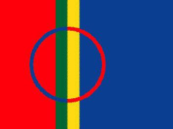 """""""Det samiske flagget."""""""
