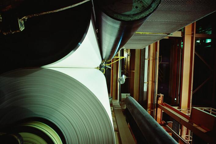 """""""Vaaler sier til forskning.no at kravene til høyere kvalitet og lavere vekt tvinger papirbransjen til økt forskning og utvikling. Illustrasjonsfoto: www.clipart.com"""""""