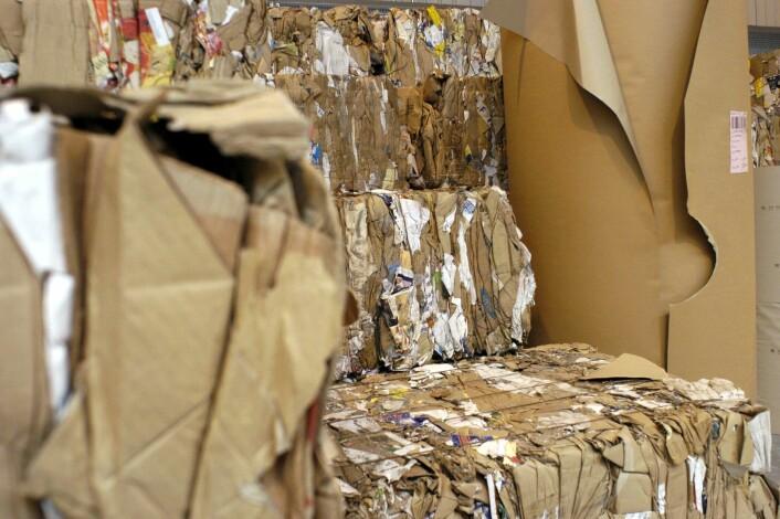 """""""Mens kontorer her i Norden bruker mindre papir blir det, på verdensbasis, mer og mer behov for kvalitetspapp og papir til emballasje, sier Vaaler. Illustrasjonsfoto: www.colourbox.no"""""""