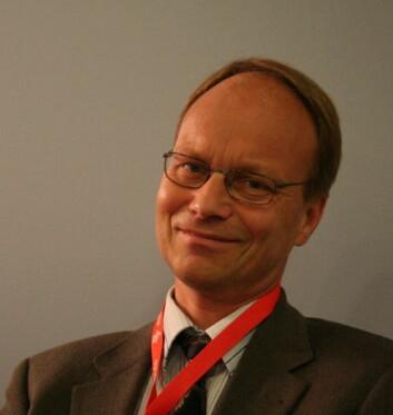 """Kongressens generalsekretær Anders Solheim."""