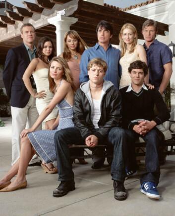 Gjengen fra tv-serien The O.C.