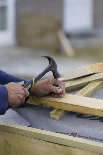 """""""Høiskar peker på slurv i byggefasen som en av årsakene til at også norske hus har problemer med fukt og mugg. Illustrasjonsfoto: www.colourbox.no"""""""