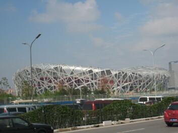 OL-stadion i Beijing.