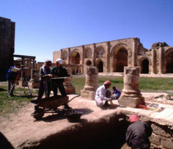 """Utgravninger i Hatra. (Foto: UNESCO)"""