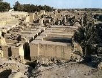 """""""Ruinene av Babylons hengende hager."""""""