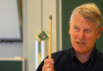 """Økonomiprofessor Terje Hansen."""