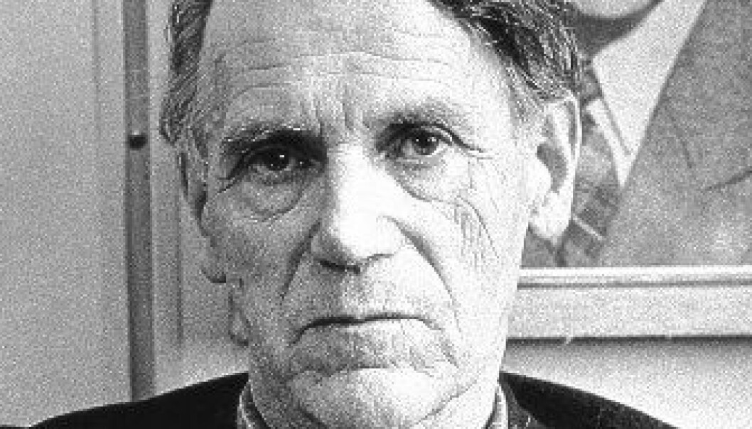 Olav H. Hauge. (Foto: Jan Kløvstad/Samlaget)