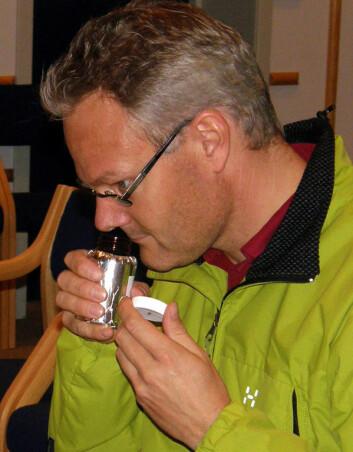 Bare én av fire menn registrerer lukten fra androstenon, som de selv utsondrer blant annet i svetten. (Foto: UMB/Animalia)