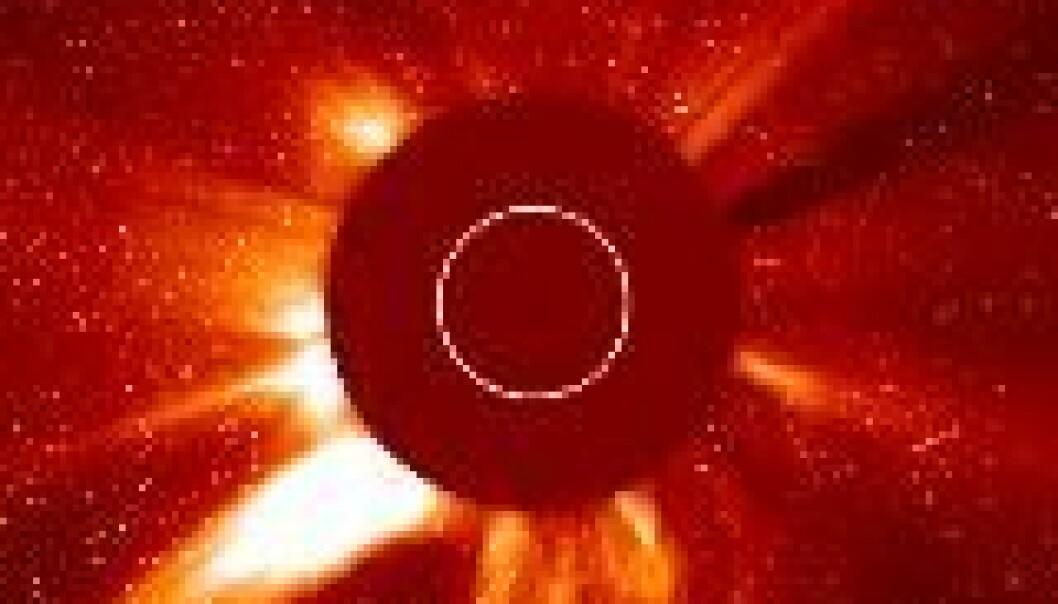 """""""(Foto: SOHO, NASA)"""""""
