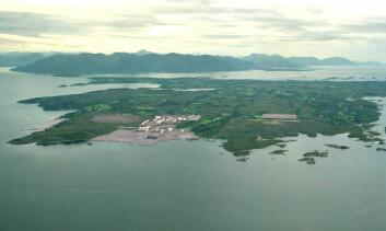 """""""En konsekvensutredning konkluderer med at Nyhamna i Aukra er det beste stedet for å føre i land gass fra feltet."""""""