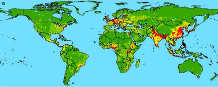 """""""Mulige hotspots for nye pandemier."""""""