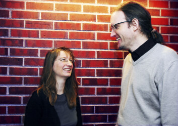 """Ulrike Spring og Johan Schimanski"""