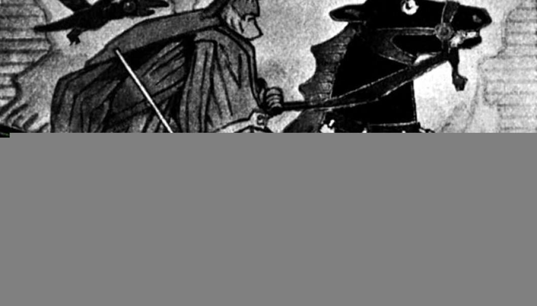 """""""Odin og Sleipner"""""""