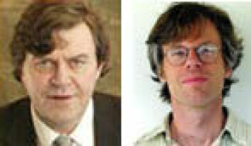 """""""NGU-forskerne Trond H. Torsvik (t.v.) og Bernhard Steinberger."""""""