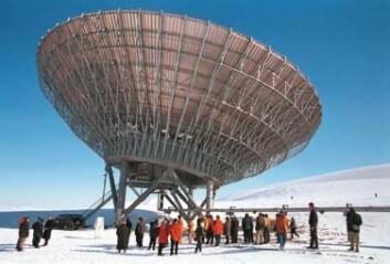 """""""I mai i år ble Eiscat-antenne nummer to tatt i bruk på Svalbard. Denne """""""