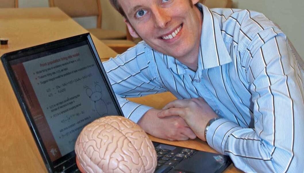 """Patrick Blomquist tar doktorgrad ved UMB. Hans forskning har bidratt til mer forståelse om hvordan vår hukommelse virker. (Foto: UMB)"""