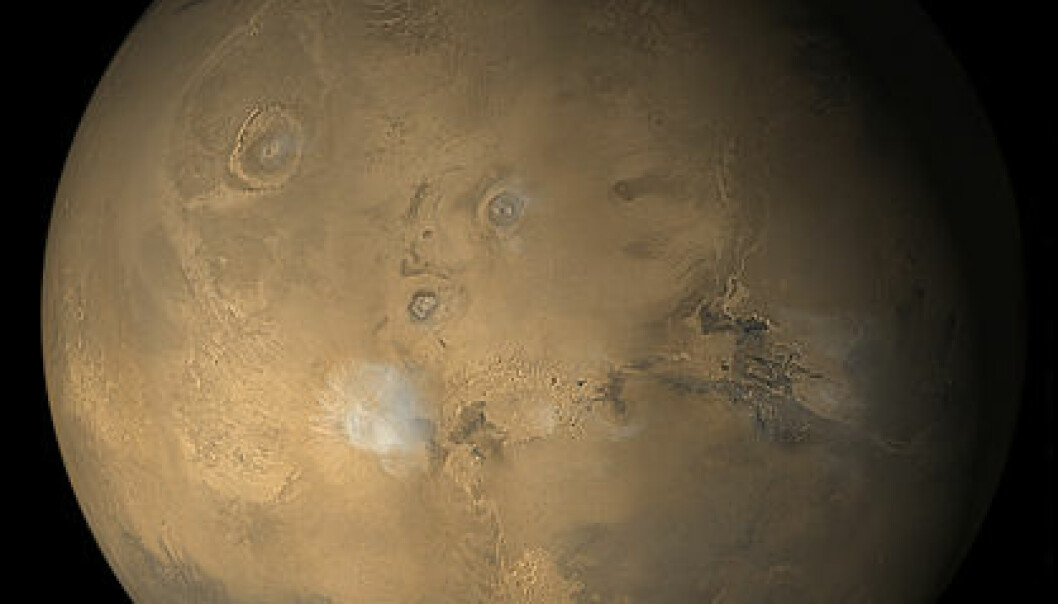 """Planeten Mars. Foto: NASA/JPL/Malin Space Science Systems"""