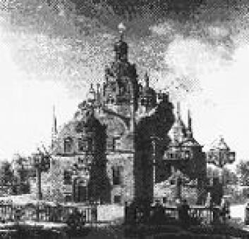 """""""Uraniborg - et av Tycho Brahes berømte observatorier som ble bygget på øya Ven."""""""