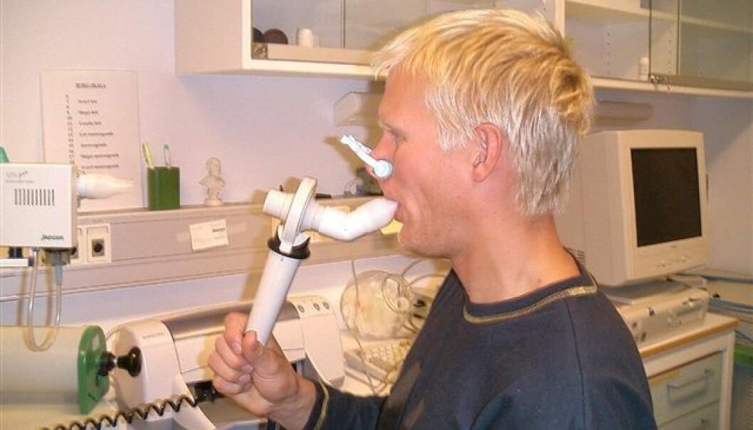 Langrennsutøvere får oftere astma