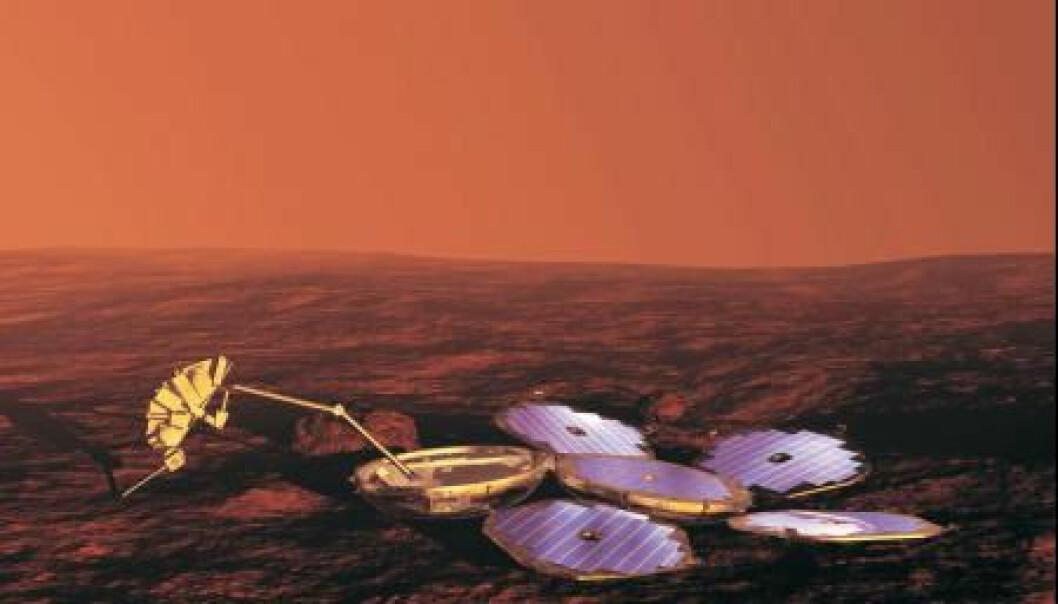 Europeisk søk etter liv på Mars