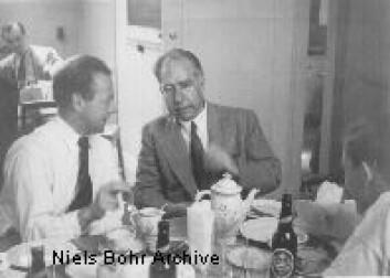 """""""Bohr og Heisenberg i 1936."""""""
