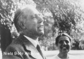 """""""Lise Meitner og Niels Bohr."""""""