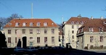 """""""Bohr-instituttet i København er i aktivitet fremdeles. Bohr bodde her, men flyttet til Carlsbergstiftelsens æresbolig før møtet med Heisenberg."""""""