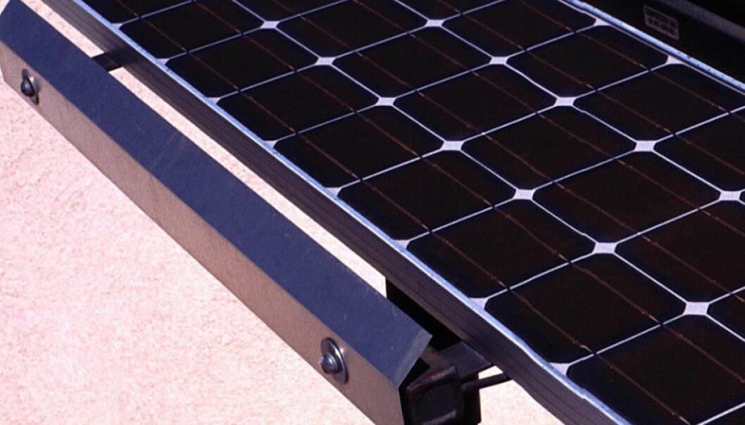 Trekull gir CO2-kutt for solceller