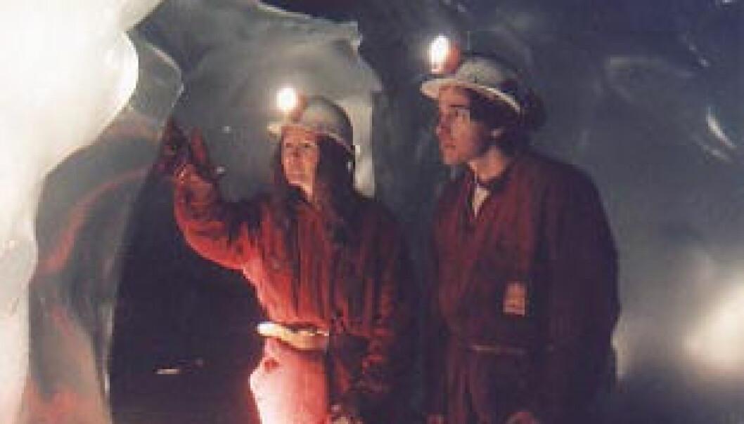 """""""Istunnelane varer ikkje lenge. Foto: Norges vassdrags- og energidirektorat."""""""