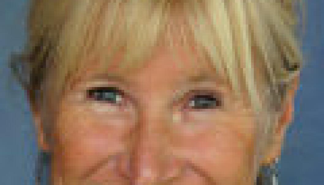 """""""- Kristin Halvorsens blogg blei i sluttfasen dominert av kritiske og til dels sure menn, skriv forskar Anne Krogstad. (Foto: ISF)"""""""