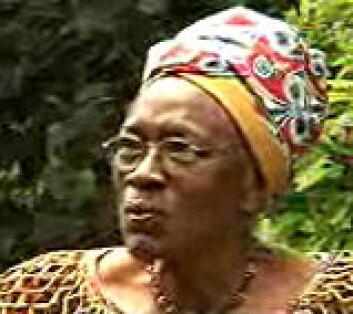 """""""Dr Miriam Were, Kenya, har vært med å gi råd"""""""