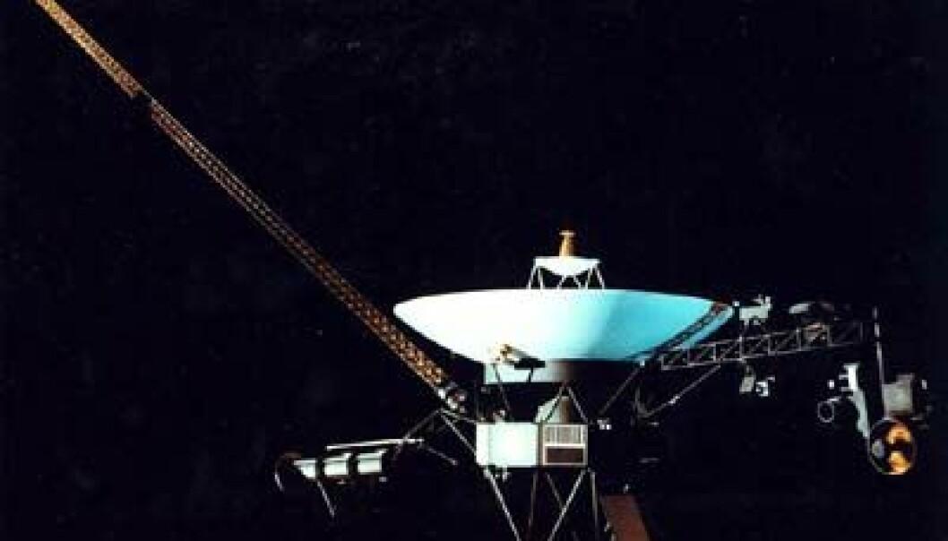 """Voyager 1. (Foto: NASA)"""