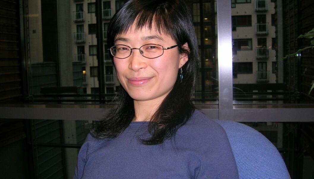 """""""Pingying Zhang Wenstøp forsker på makt i styrerommet."""""""