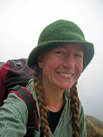 """""""UMB og Institutt for naturforvaltning tilbyr bachelor- og masterstudier innen naturforvaltning, skogfag, økologi, utmarksbasert næringsutvikling og fornybar energi. Maria C Knagenhjelm tok sin master i naturforvaltning. Det ga henne nærkontakt med brillebjørn, puma og kondorer i Bolivia."""""""