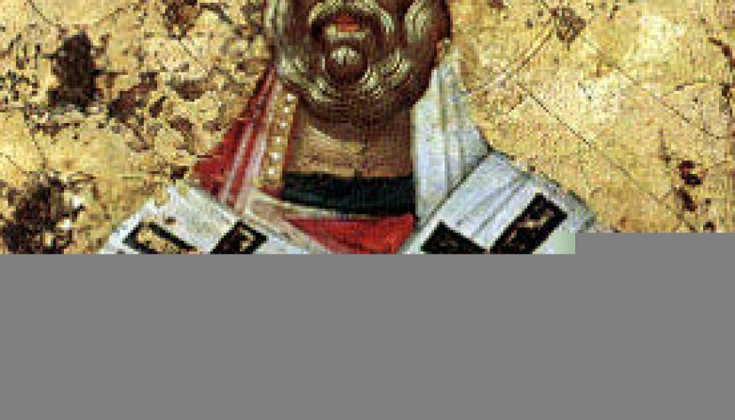 """""""St. Nikolaus som ikon."""""""