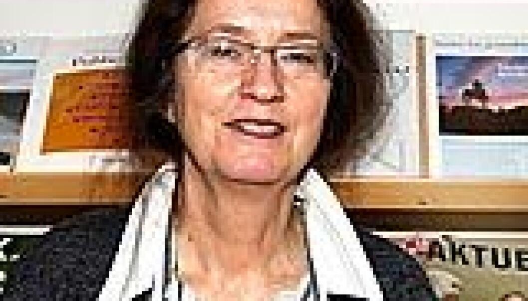 """""""Berit Schei er professor i kvinnemedisin ved NTNU, og er en av medforfatterne av studien. Foto: Tor H. Monsen"""""""