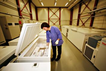 """""""HUNT biobank er en nasjonal biobank. Her oppbevares betydelige deler av samlingen som utgjør Biohealth Norway."""""""