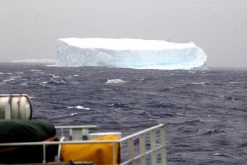 """""""Lufttemperaturen i områder av Antarktis har økt. Gode målinger for utviklingen i havet finnes ikke. Men temperatur i luft og hav henger sammen. (Foto: Kjartan Mæstad)"""""""