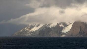 """Bouvetøya (Foto: Kjartan Mæstad)"""