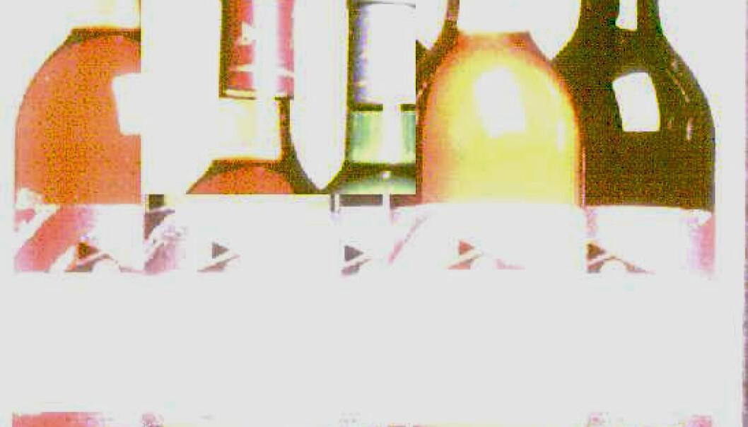 """""""Et glimt av disse flaskene i 20 millisekunder er nok"""""""