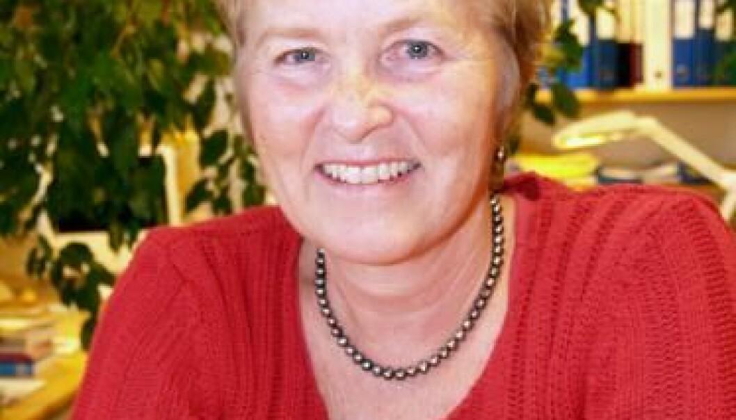 """Harriet Bjerrum Nielsen. (Foto: Kristin Engh Førde)"""