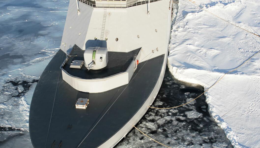 Angriper nye hav med Forsvarets hjelp