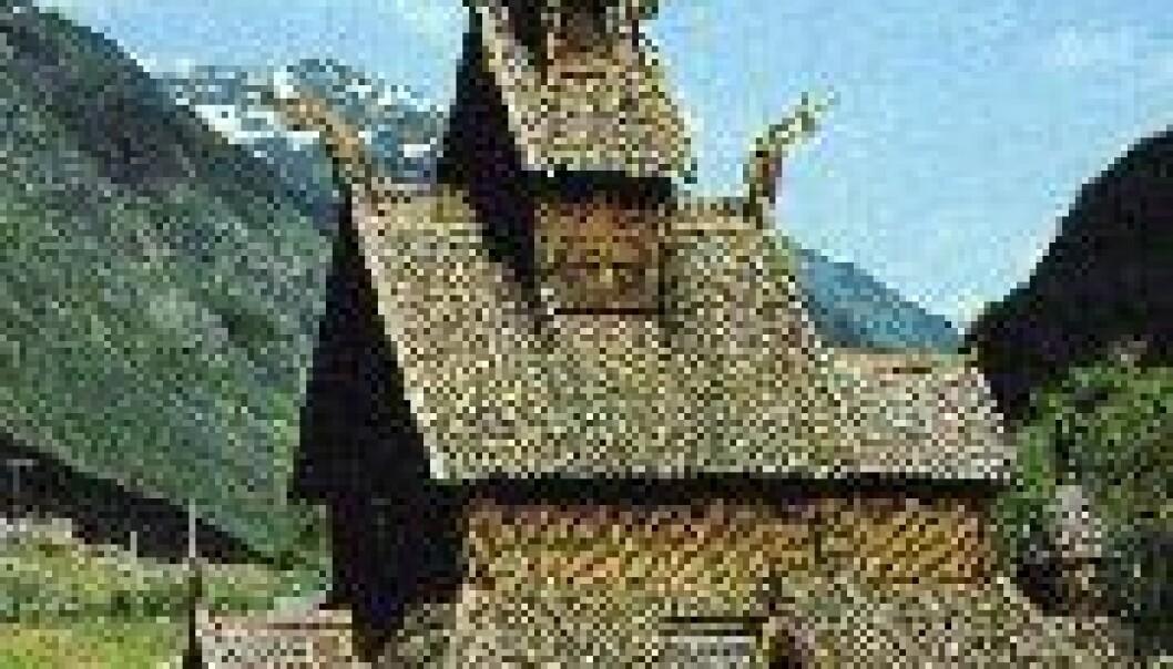 Bygger stavkirkekopi for å forstå middelalderen