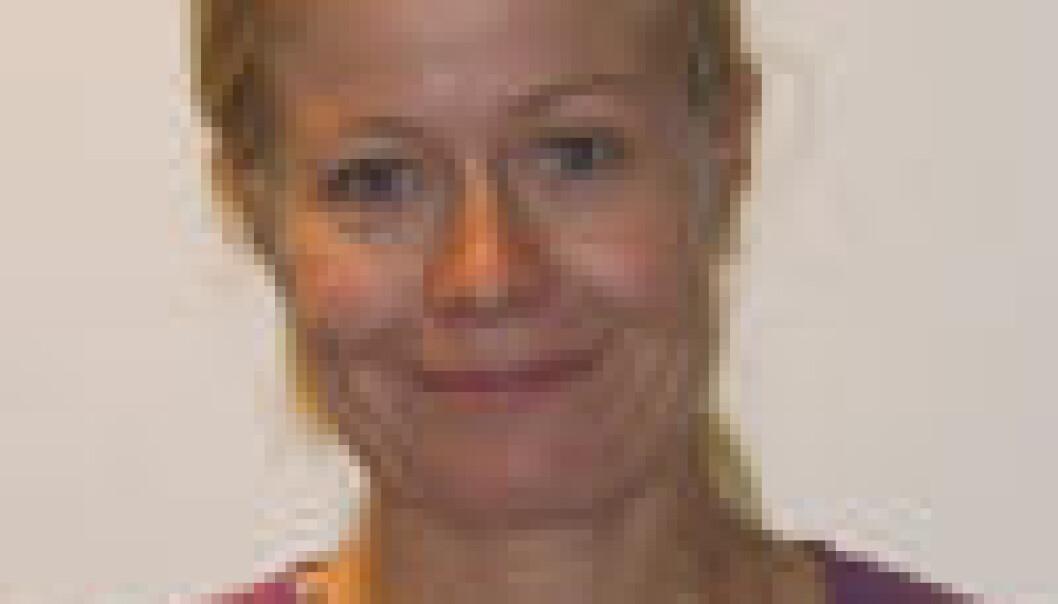 """""""Kjersit Larsen, foto: UiO"""""""